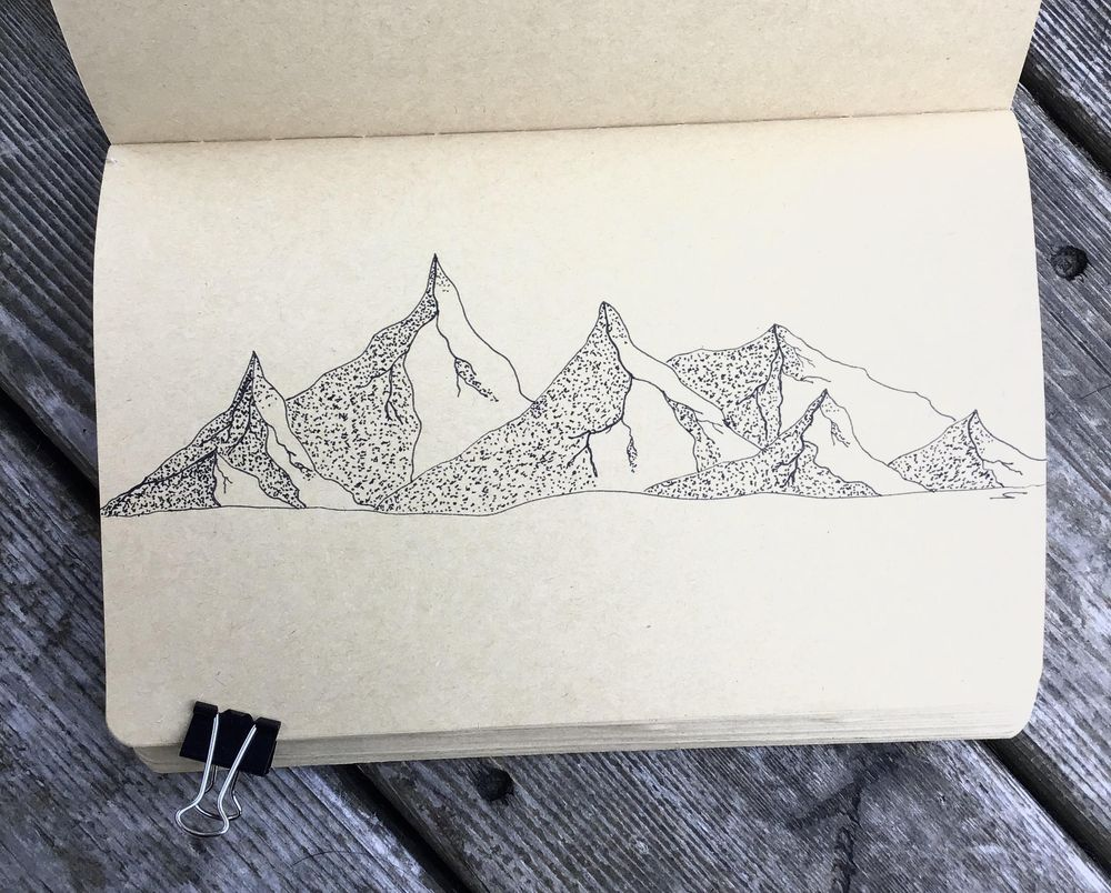 Mountains - image 2 - student project