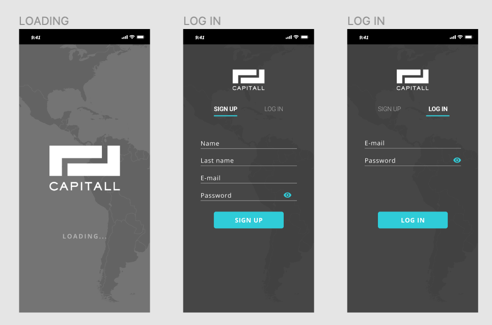 Capitall App - image 2 - student project