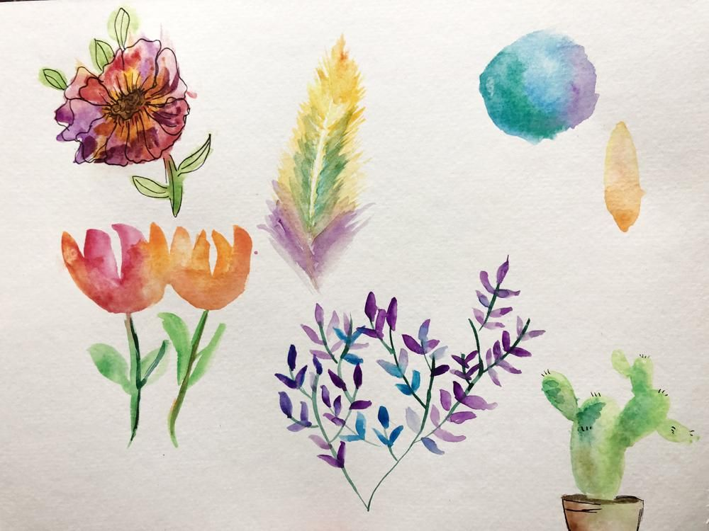 30 Day Journey to Confident Watercolor Painting - image 1 - student project