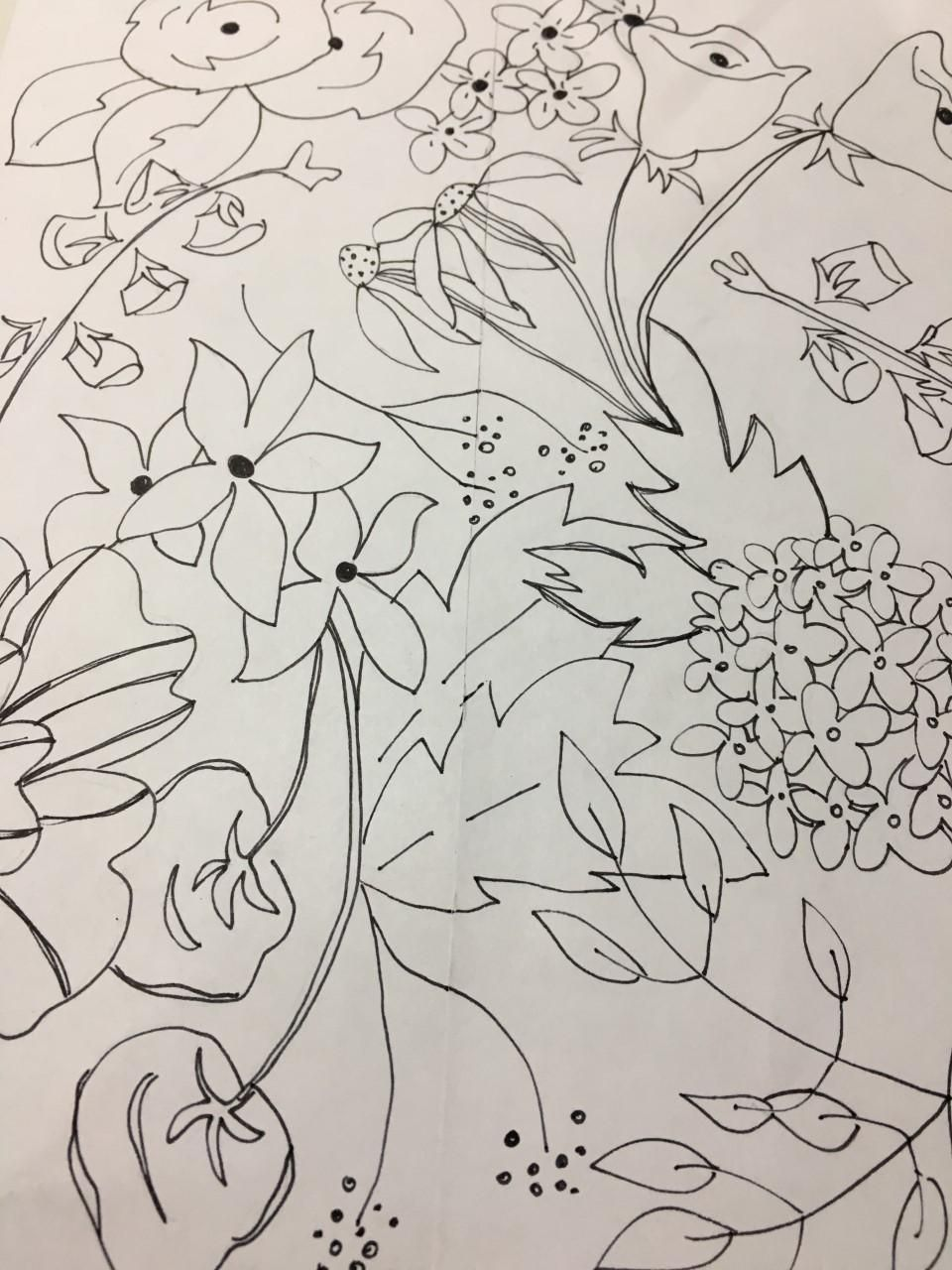 Hand Drawn Practice Tile - image 1 - student project