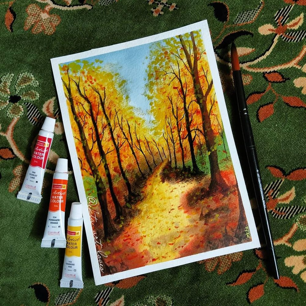 Autumn Trees - image 1 - student project