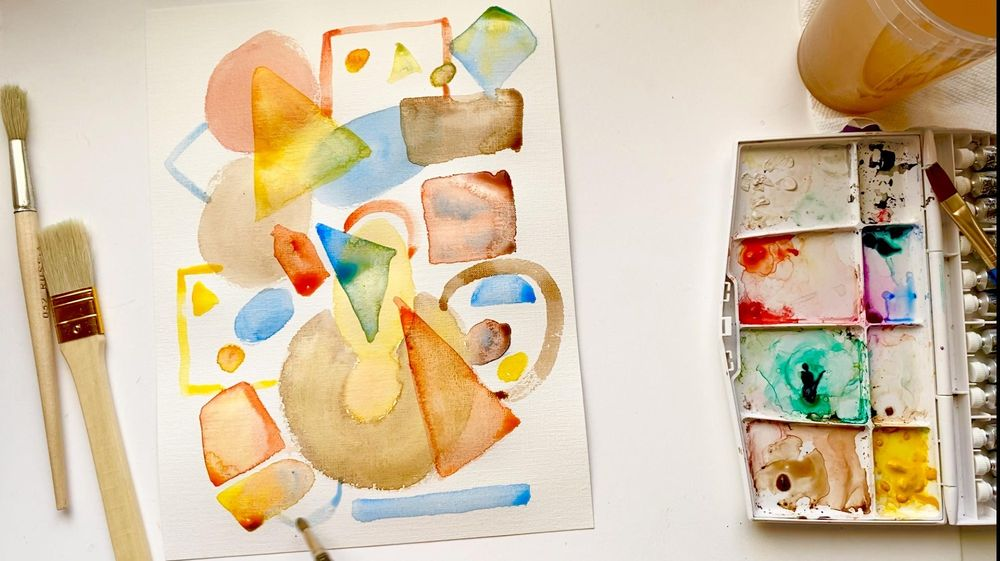 My Abstract Painting - image 6 - student project