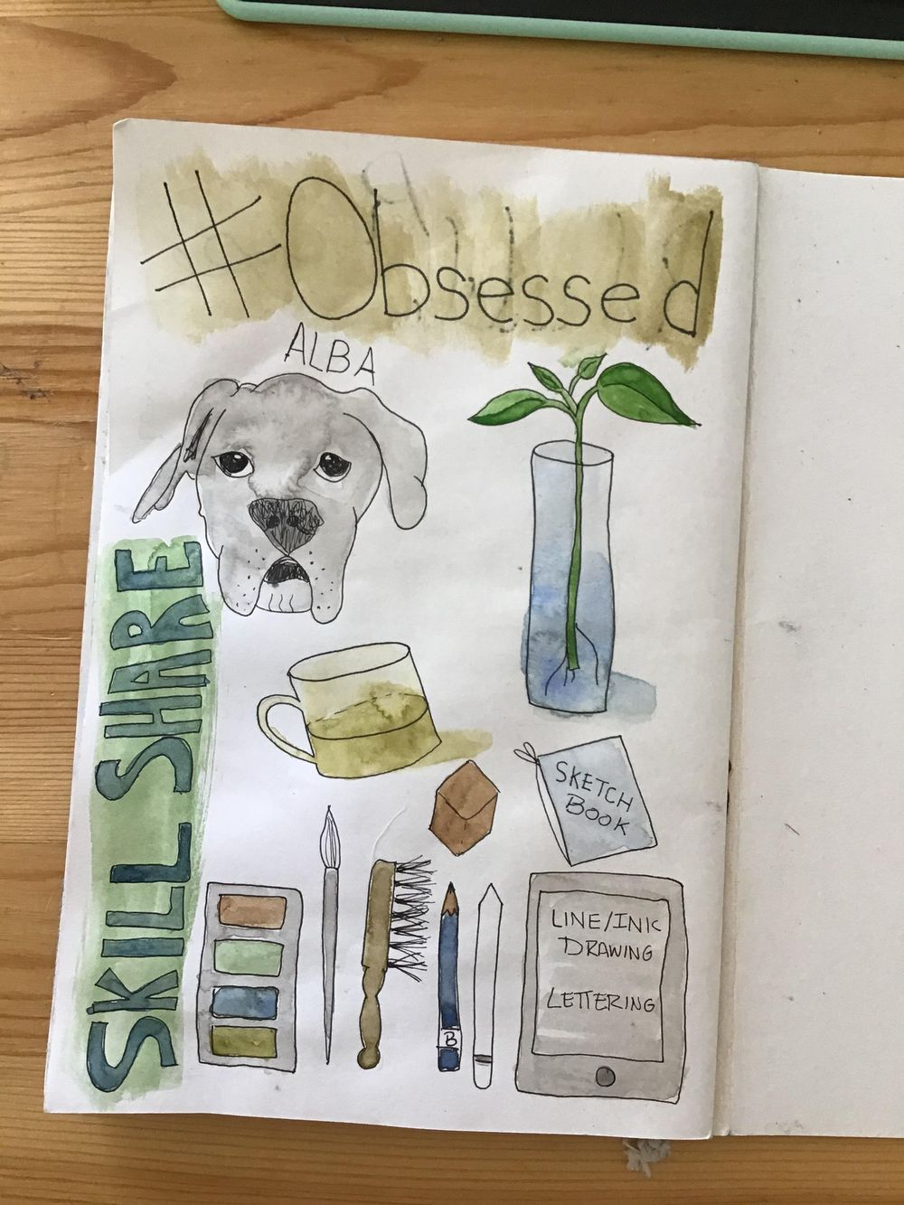 Illustrated Journaling Day 1 - 14 - image 1 - student project