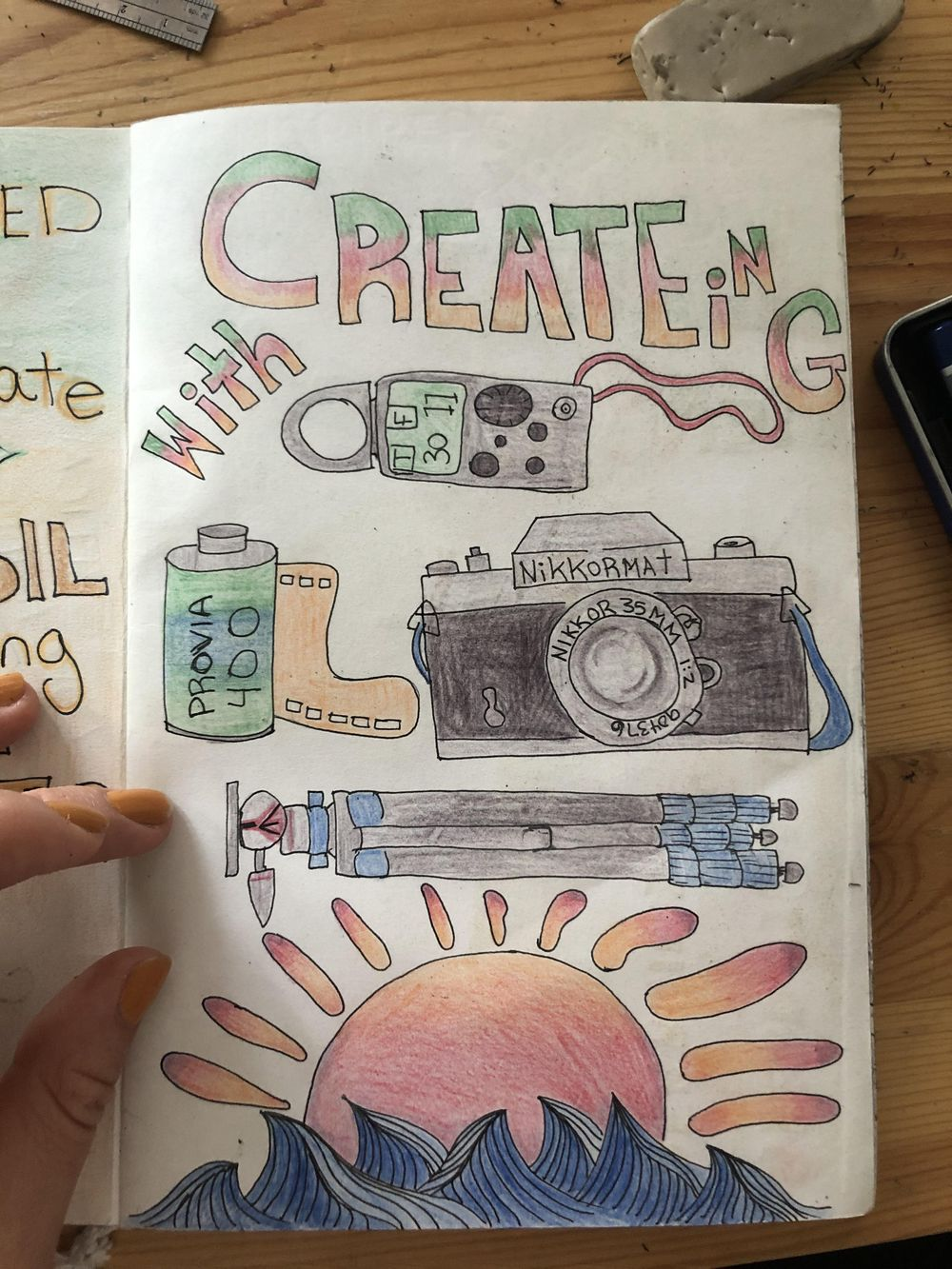 Illustrated Journaling Day 1 - 14 - image 10 - student project
