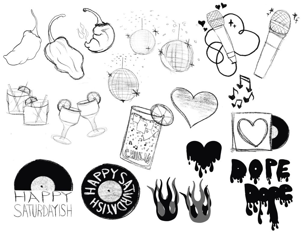 Live DJ Spot Icons - image 2 - student project