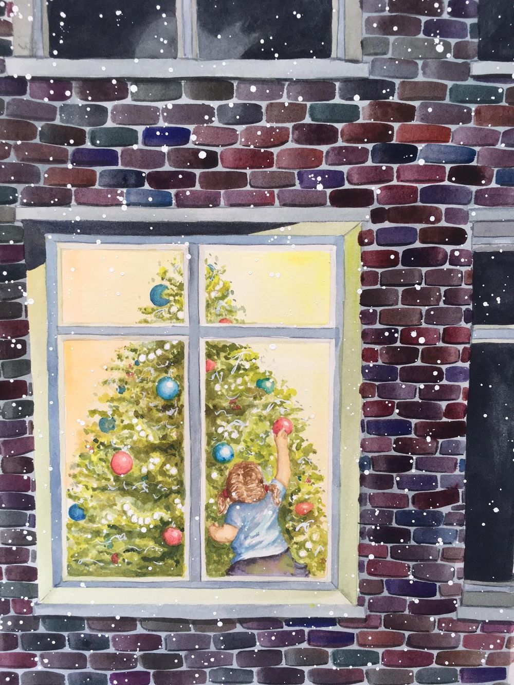 Christmas Watercolour - image 1 - student project