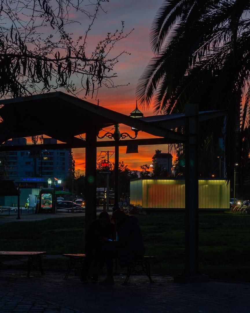 Sunset in Santiago - image 1 - student project