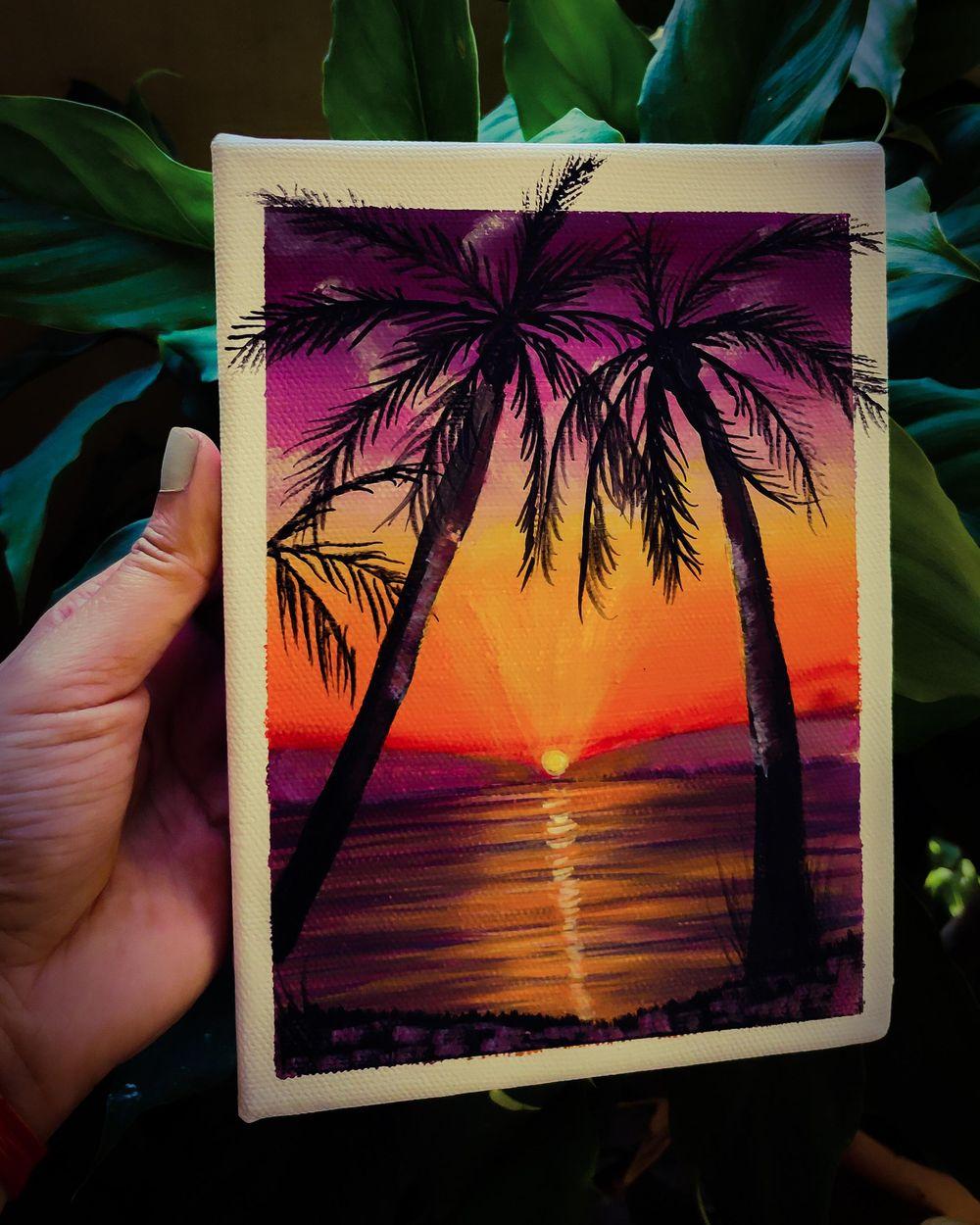 Basic Landscape Painting-Acrylic Gouache - image 1 - student project