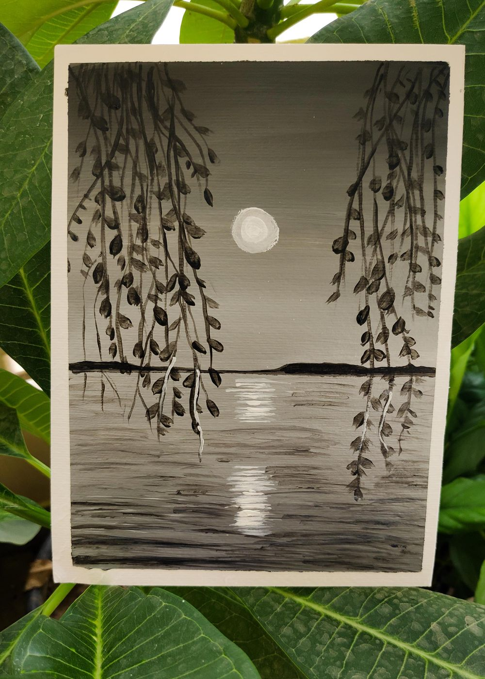 Monochrome Painting (Acrylic Medium)- Specially Designed for Beginners - image 2 - student project