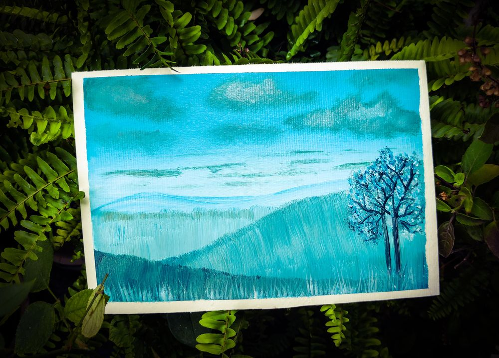 Monochrome Painting (Acrylic Medium)- Specially Designed for Beginners - image 1 - student project