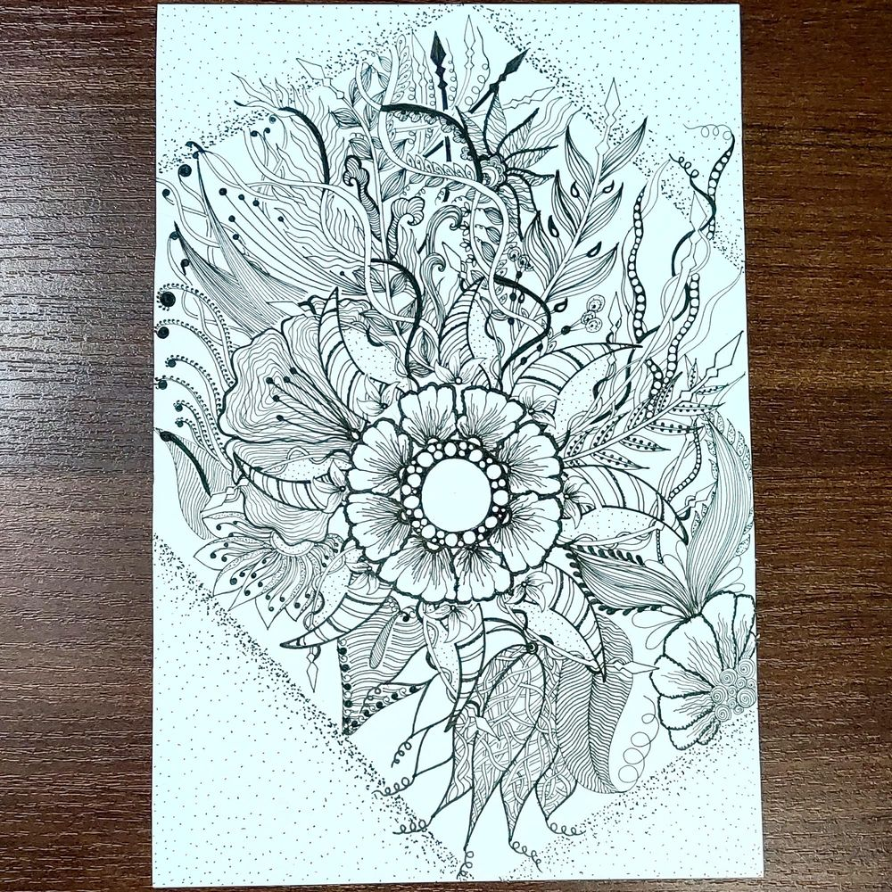 Flowers and leaves - image 1 - student project