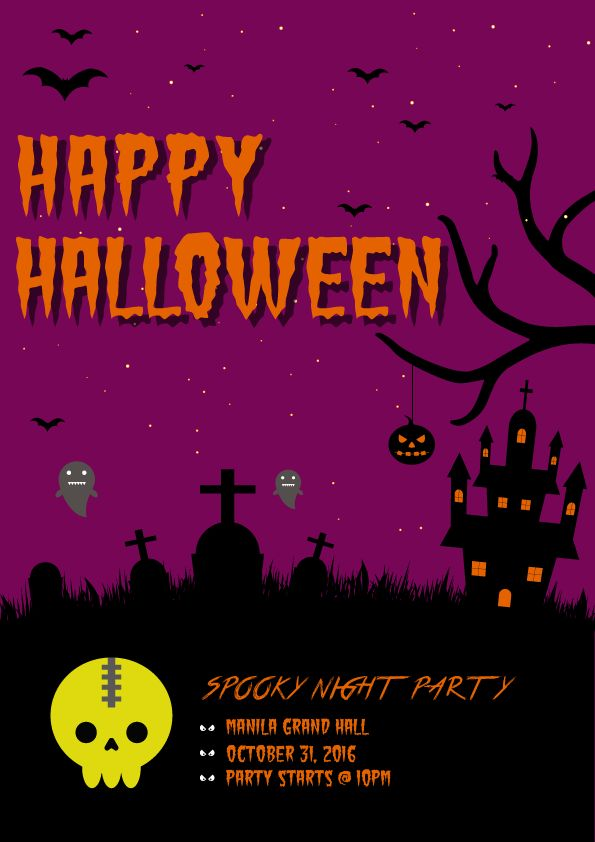 Halloween Poster - image 1 - student project