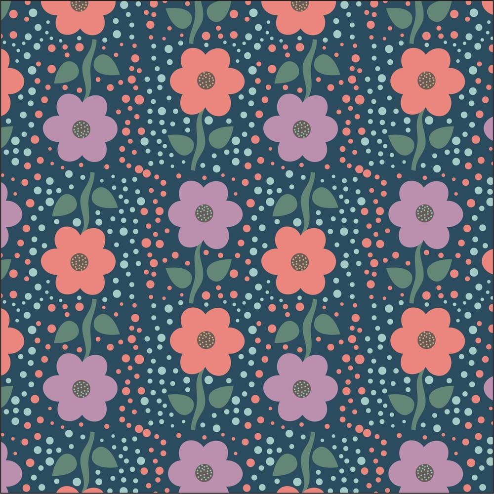 Valerie Funk - Flower Pattern - image 3 - student project