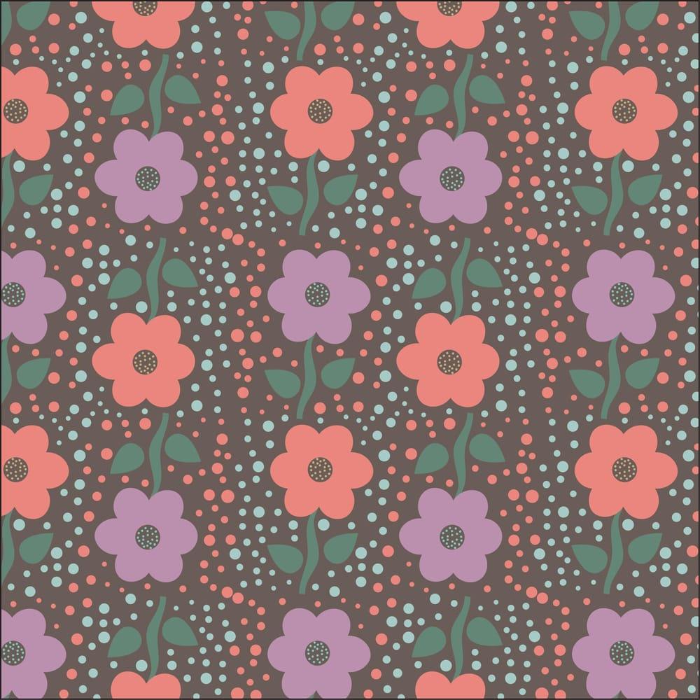 Valerie Funk - Flower Pattern - image 4 - student project