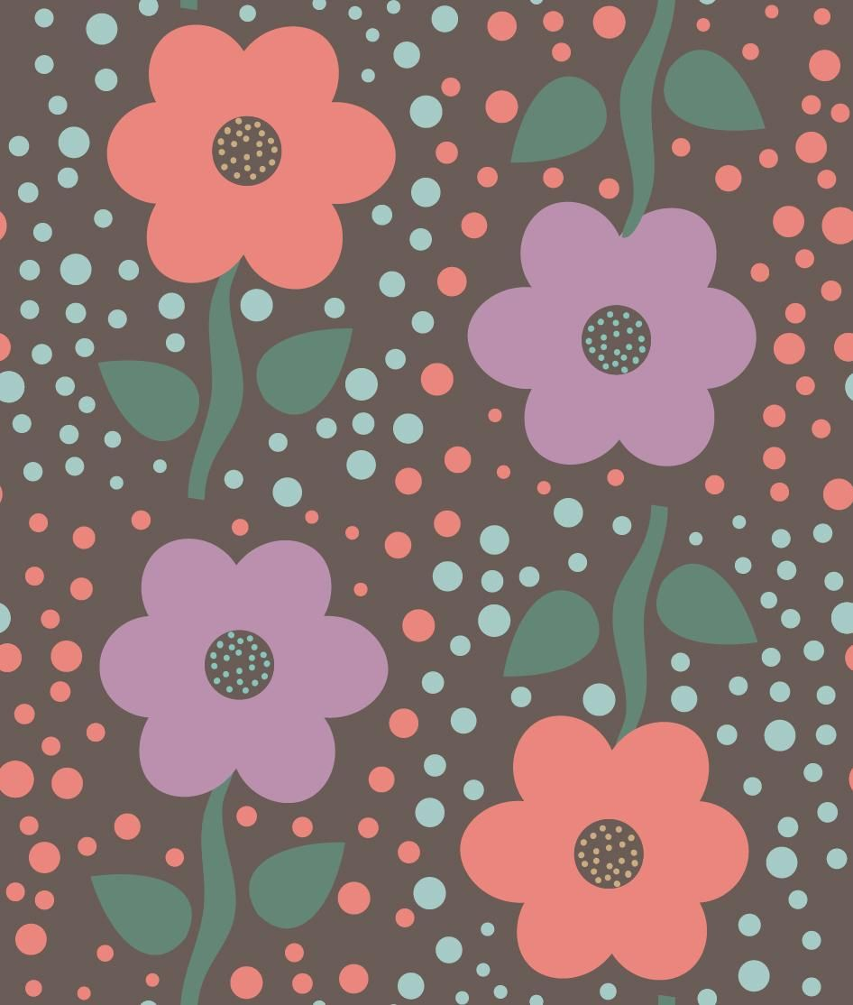 Valerie Funk - Flower Pattern - image 6 - student project