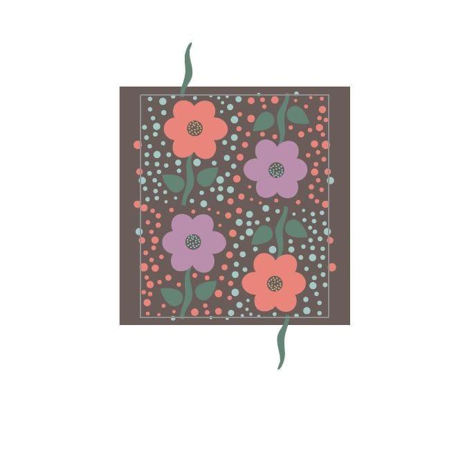 Valerie Funk - Flower Pattern - image 2 - student project