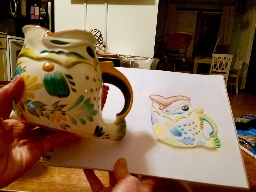 Fish Pitcher - image 1 - student project