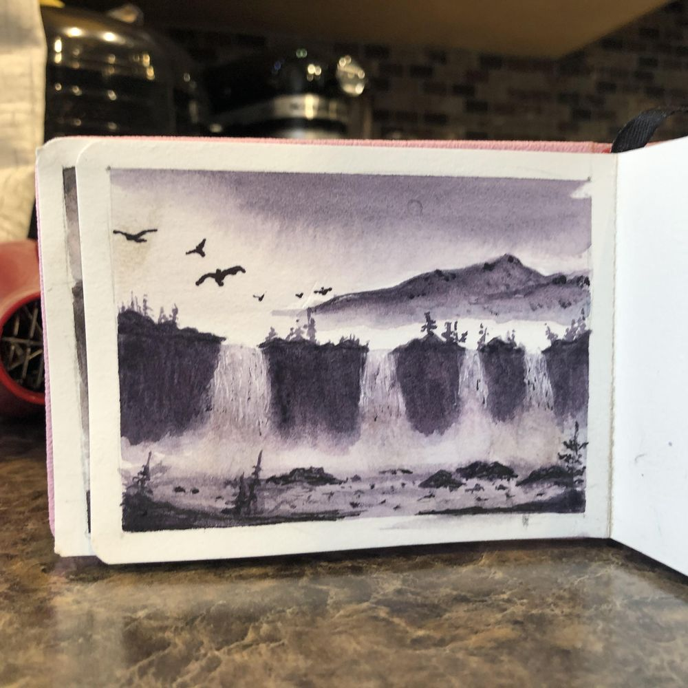 Waterfalls - image 1 - student project