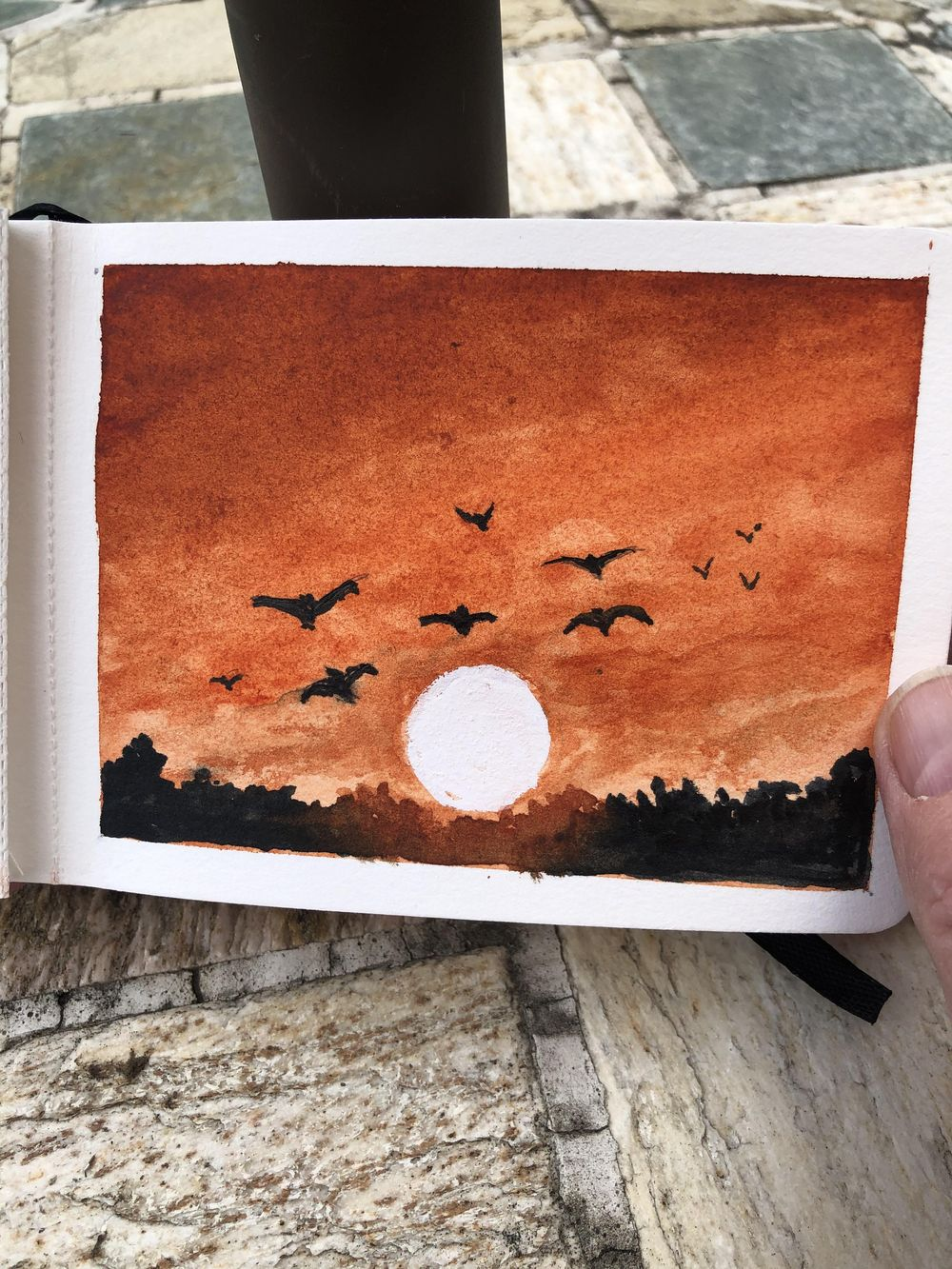 Bird paintings - image 9 - student project