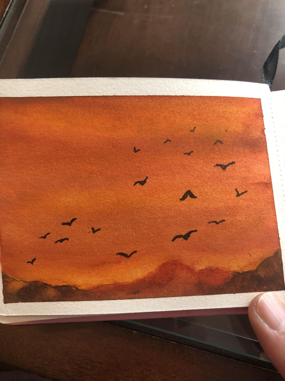 Bird paintings - image 6 - student project