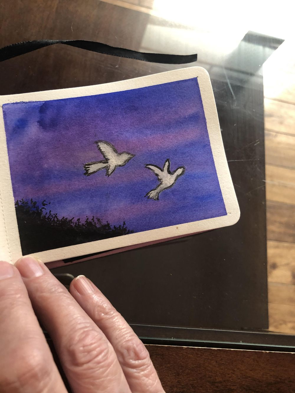 Bird paintings - image 5 - student project