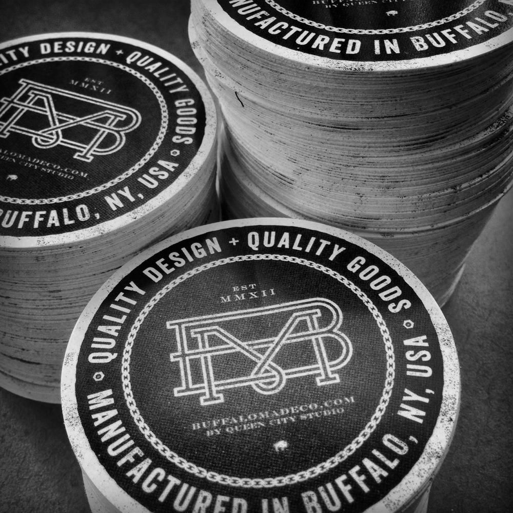 Buffalo Made Co. Hangtags - image 4 - student project