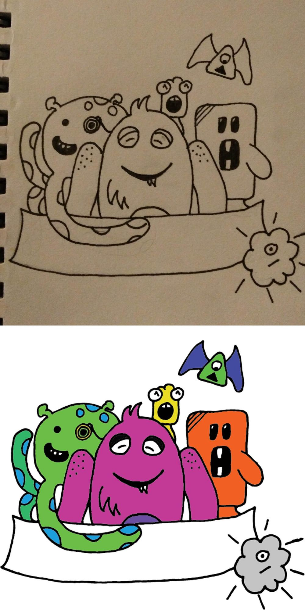 My Doodle Adventure - image 1 - student project