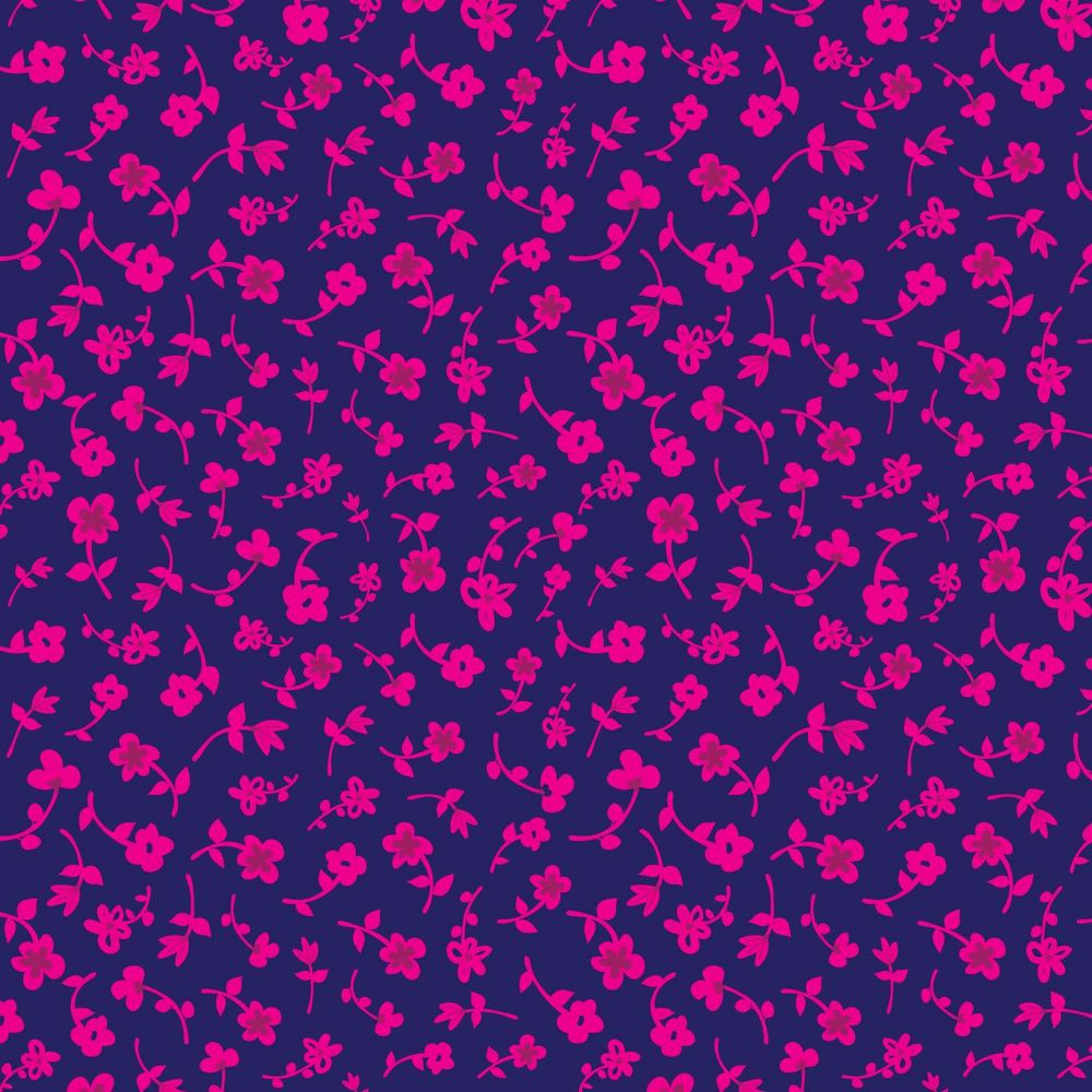 Floral Silhouette Ditsy Pattern - image 1 - student project