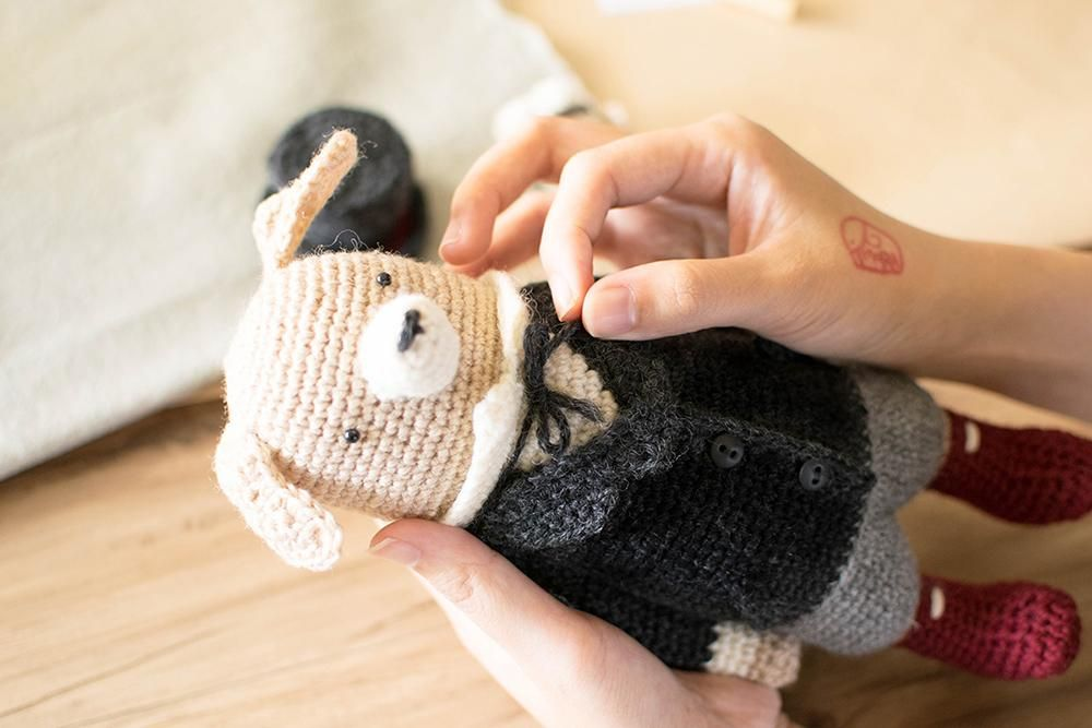 Making Crochet Doll step by step { +FREE PATTERN for you } - image 3 - student project