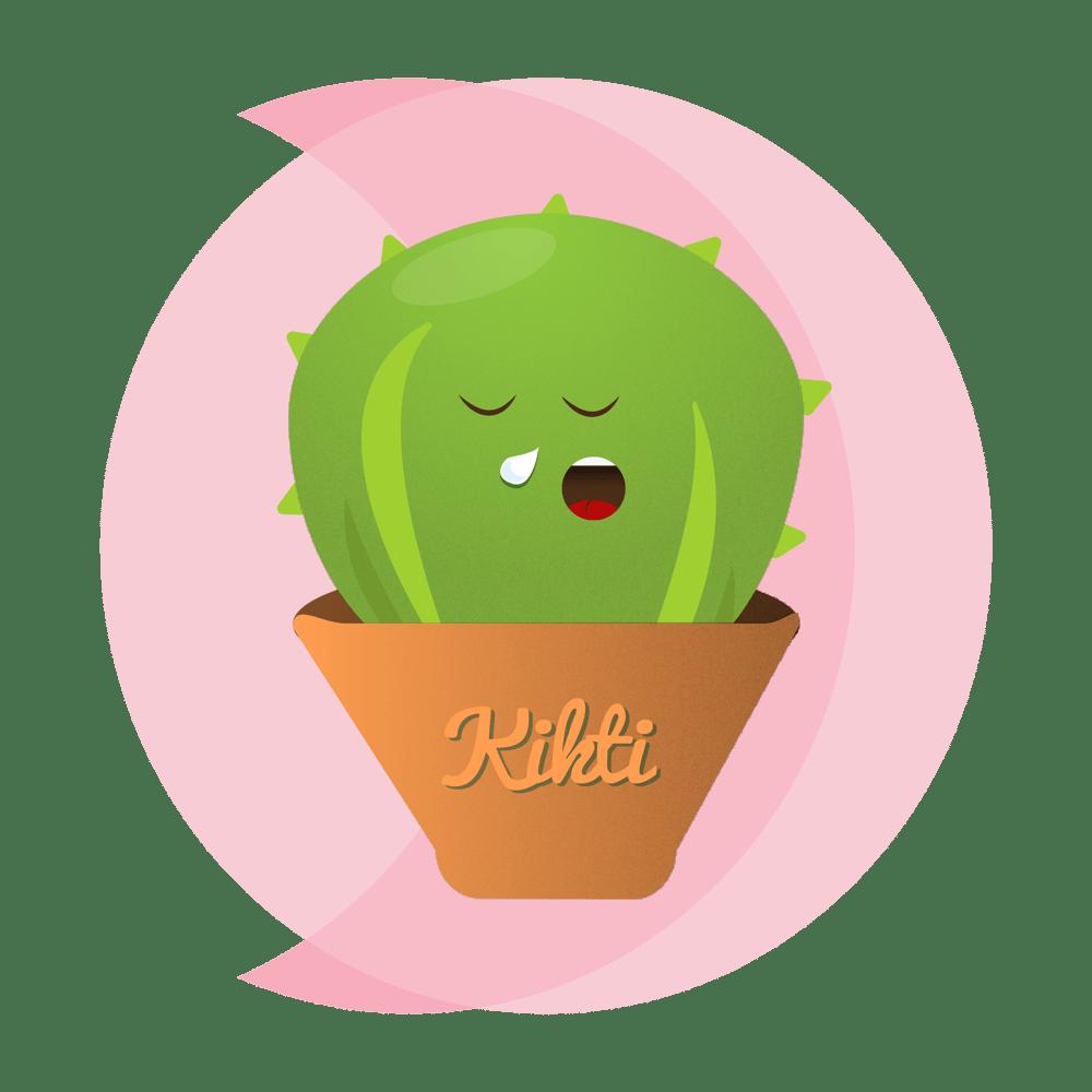Kikti the cactus - image 1 - student project