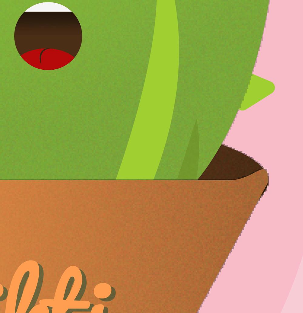 Kikti the cactus - image 2 - student project