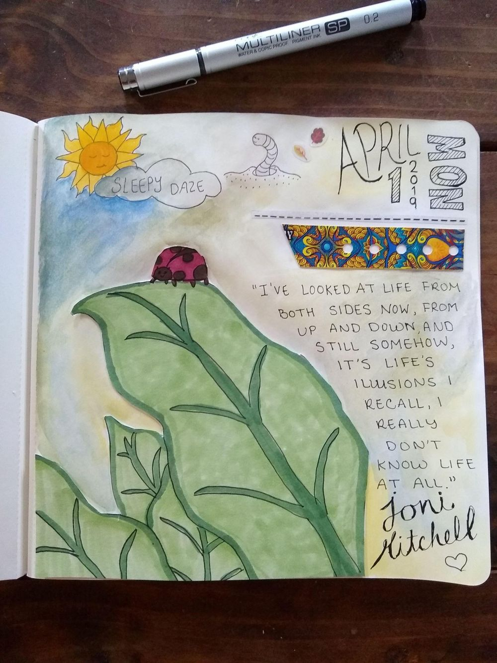 Summer's Sketchbook Journal Collage - image 1 - student project