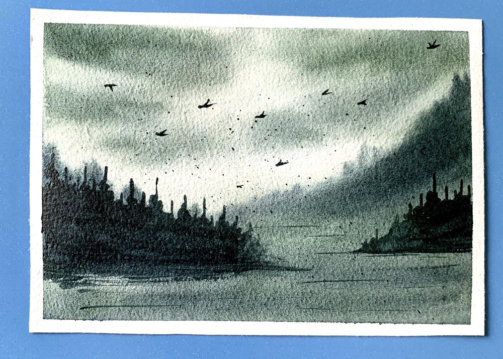 Misty mountains - image 4 - student project