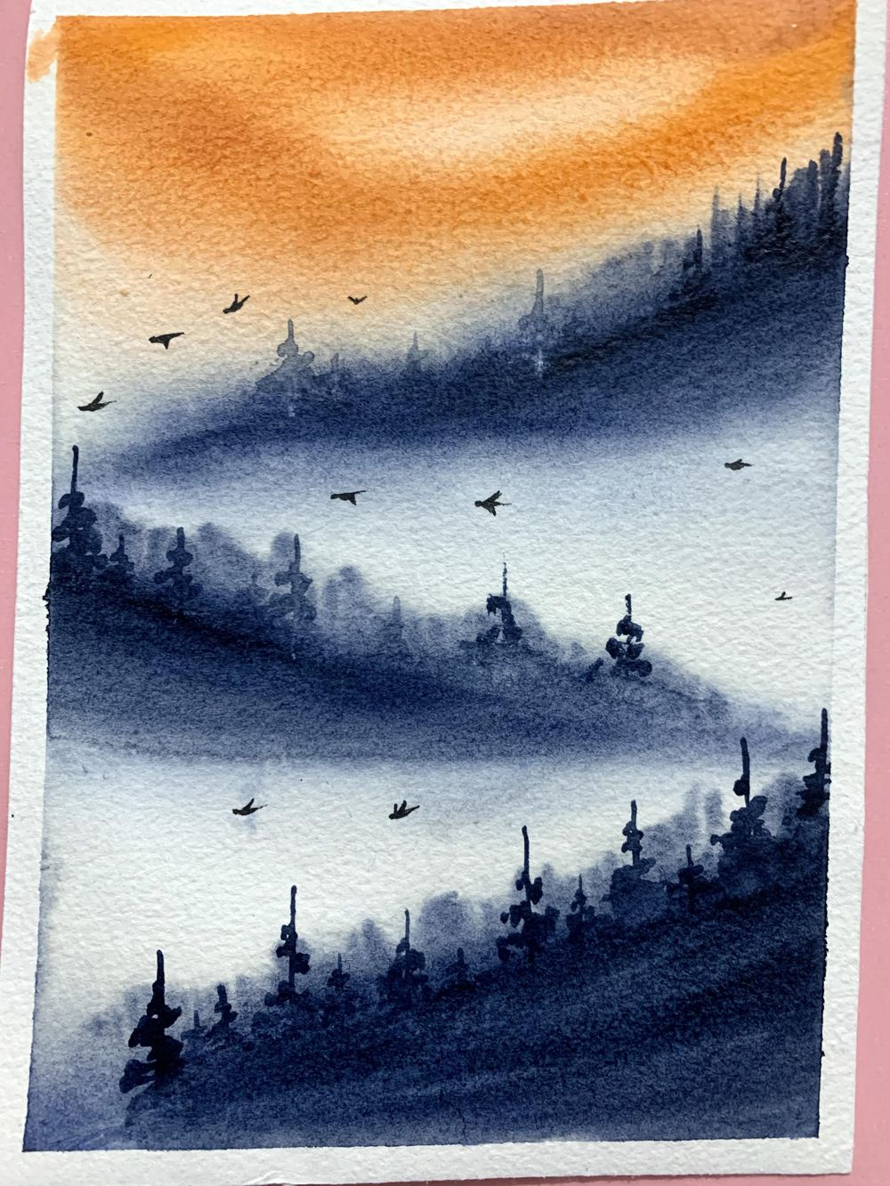 Misty mountains - image 6 - student project