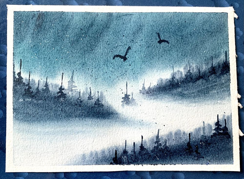 Misty mountains - image 5 - student project
