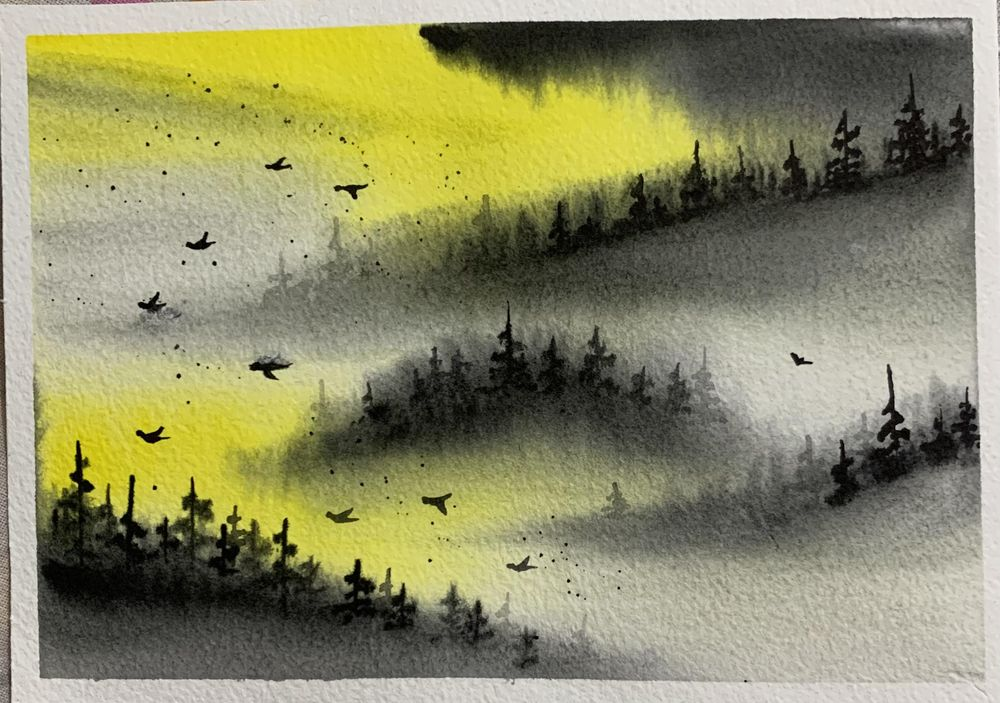 Misty mountains - image 8 - student project