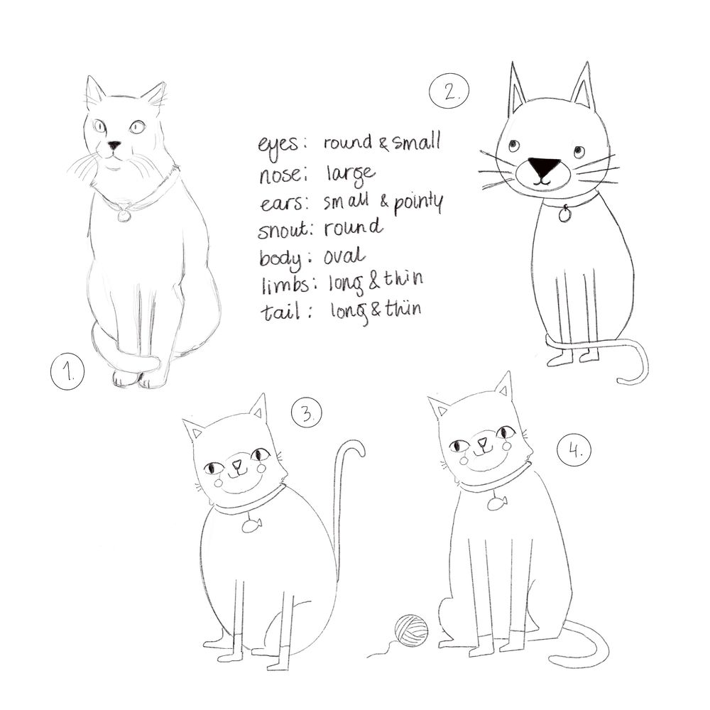 Draw a Cat - image 1 - student project