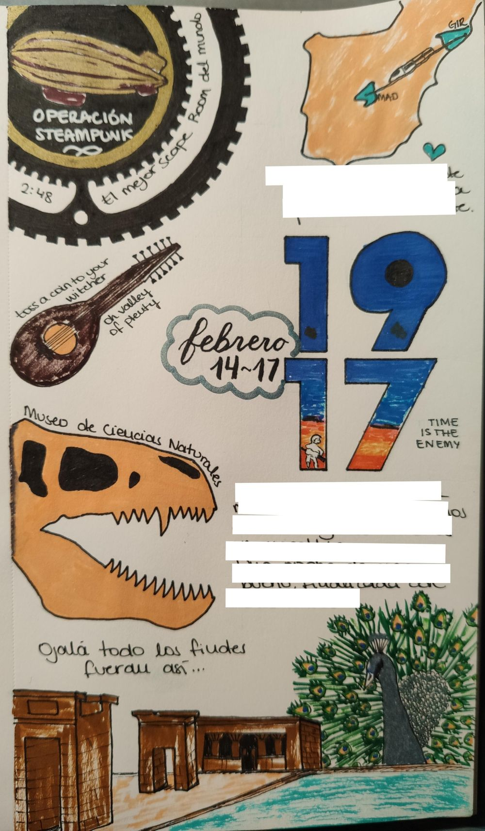 Illustrated journal of my weekend - image 1 - student project