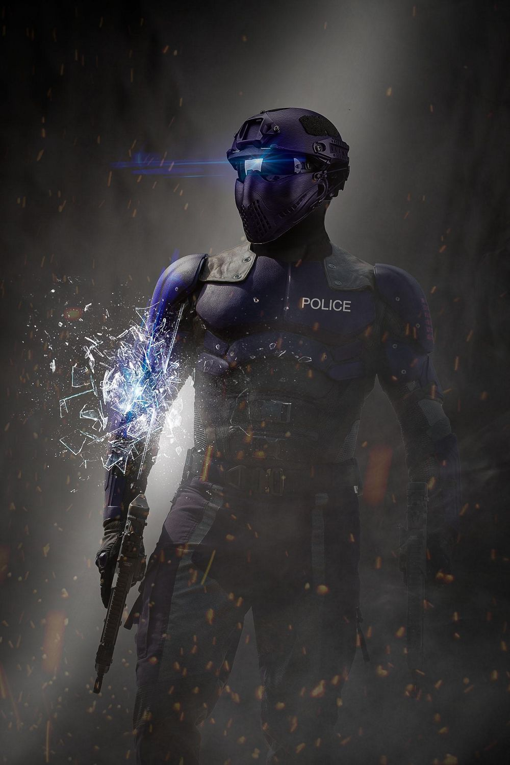 Sci-Fi Movie Poster - image 2 - student project