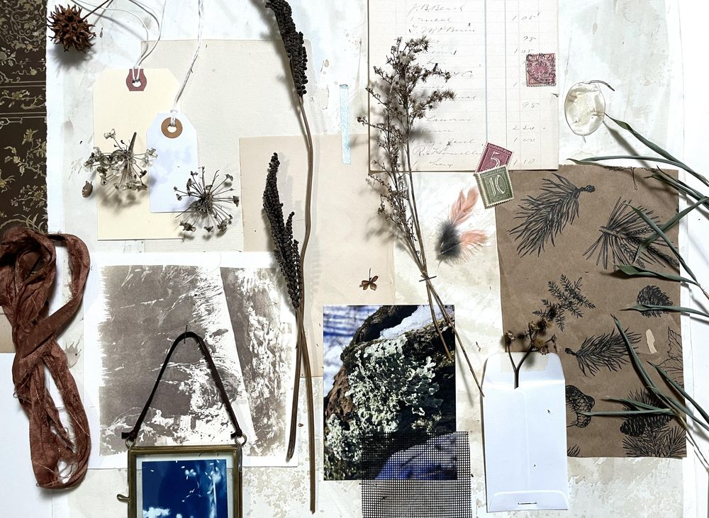 Winter Inspiration Board - image 1 - student project