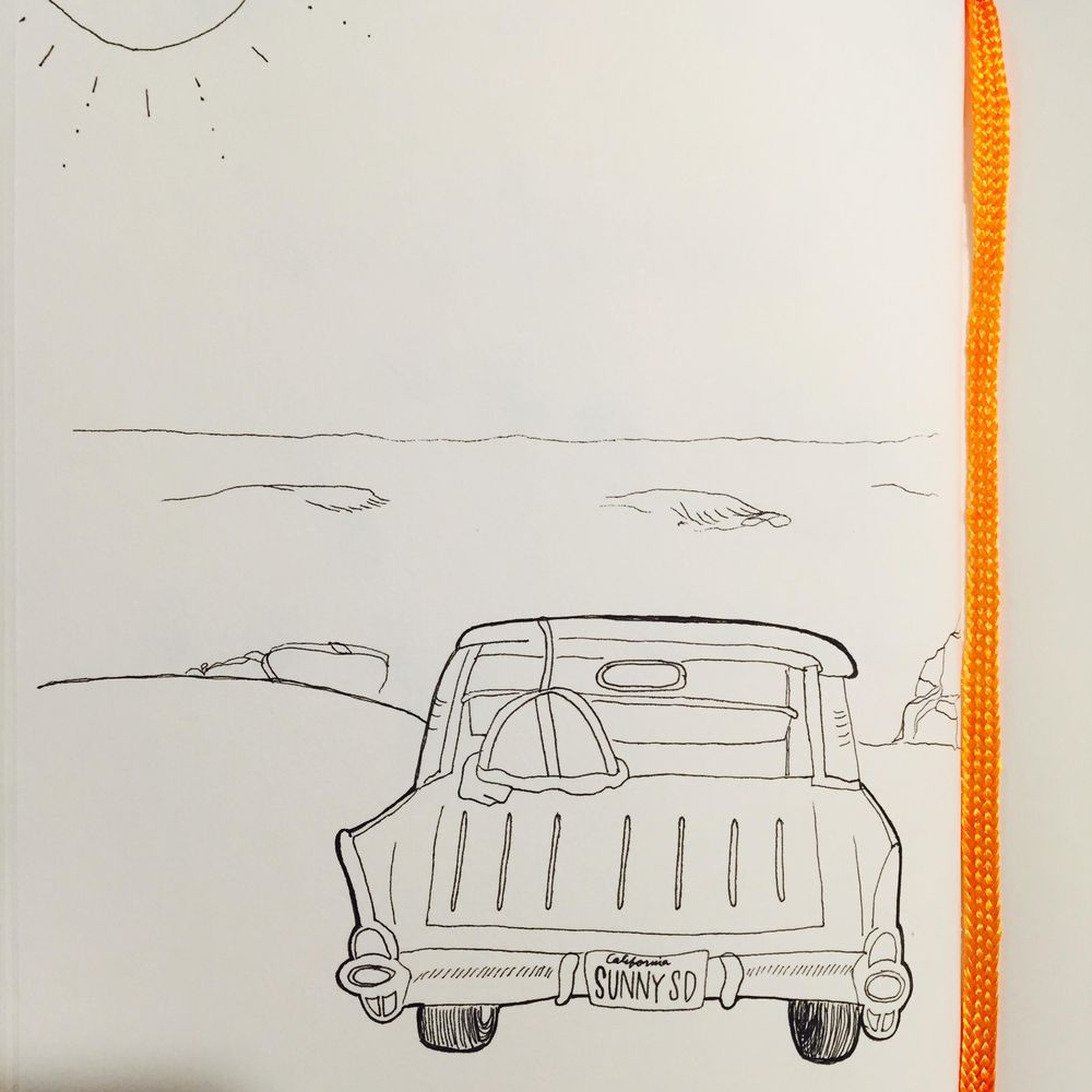Sunny San Diego Ride - image 1 - student project