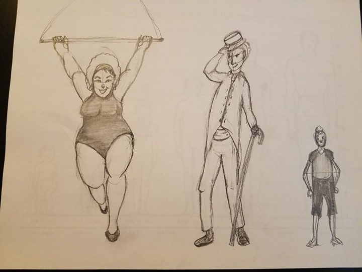 Circus Folks - image 1 - student project