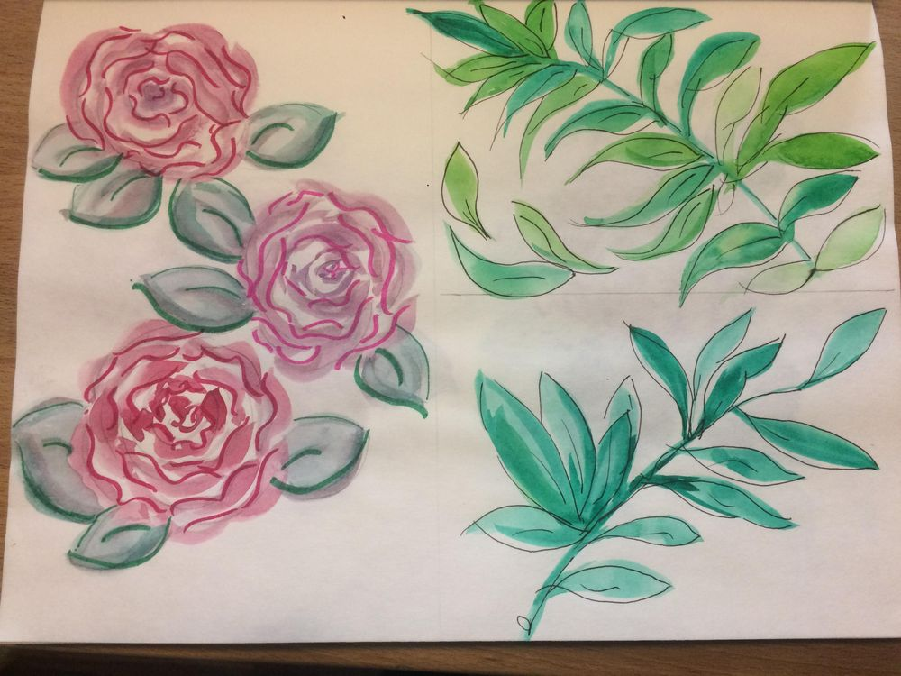 Practicing with watercolor - image 1 - student project
