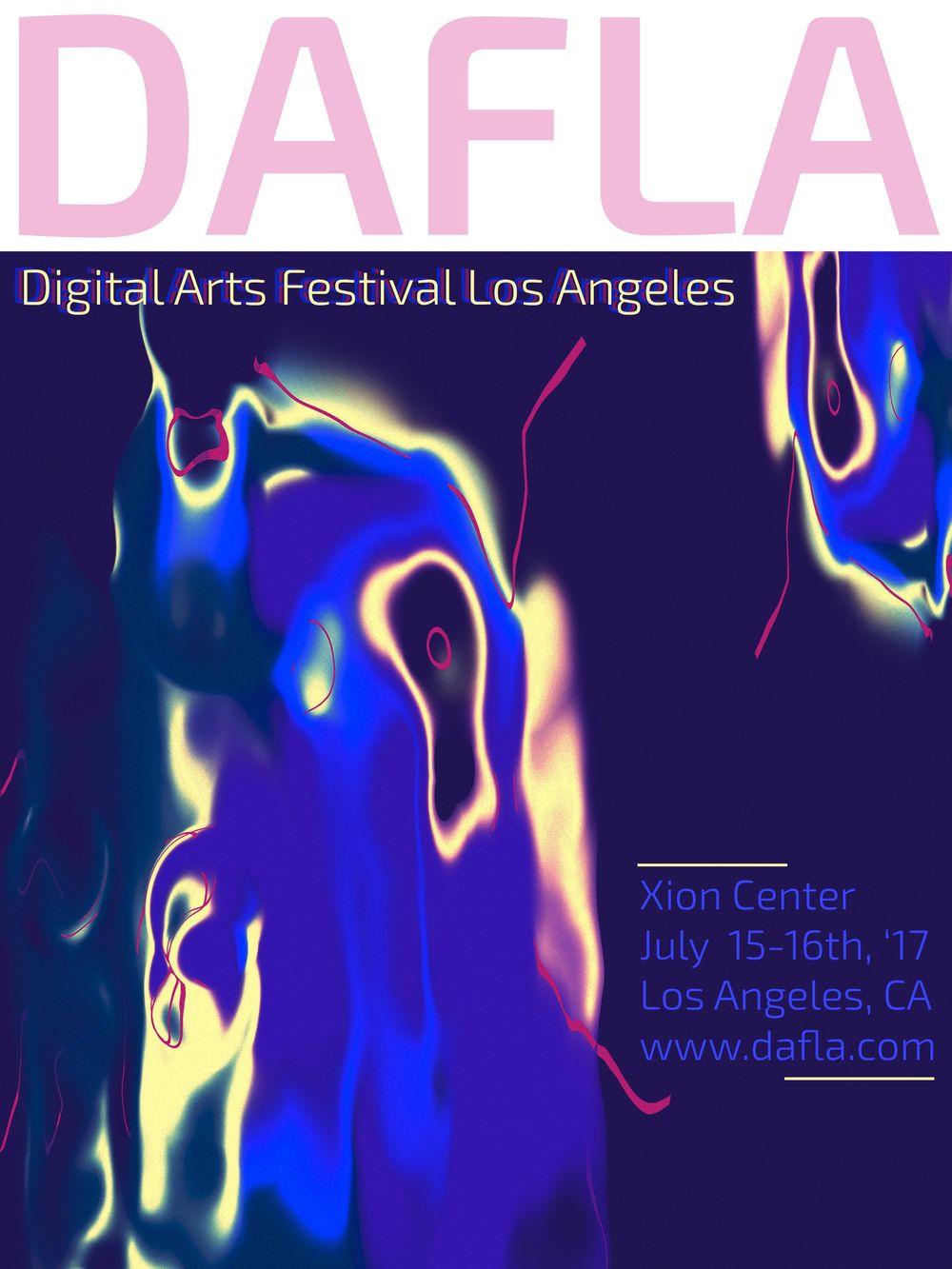 Digital Arts Festival Poster - image 1 - student project