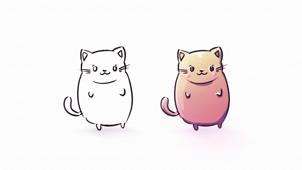 Cute Cats X3 - image 3 - student project