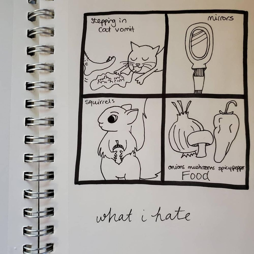 What I hate, want, and fear - image 1 - student project