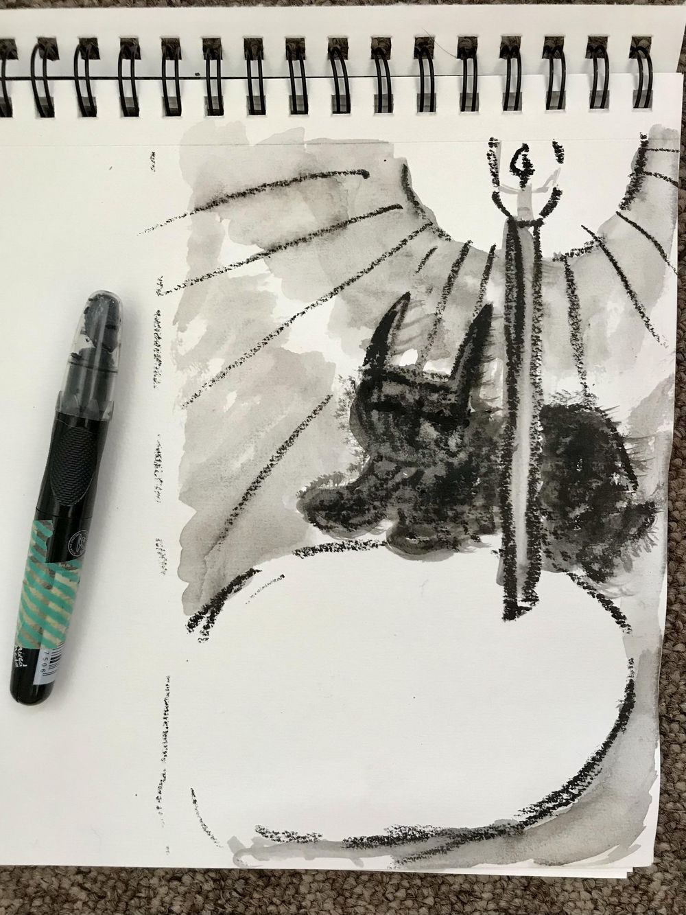Sketchbook Magic class - image 1 - student project
