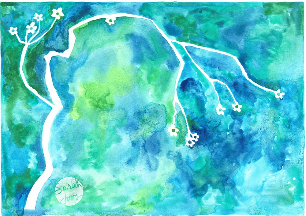 Watercolor and mixed media - image 1 - student project