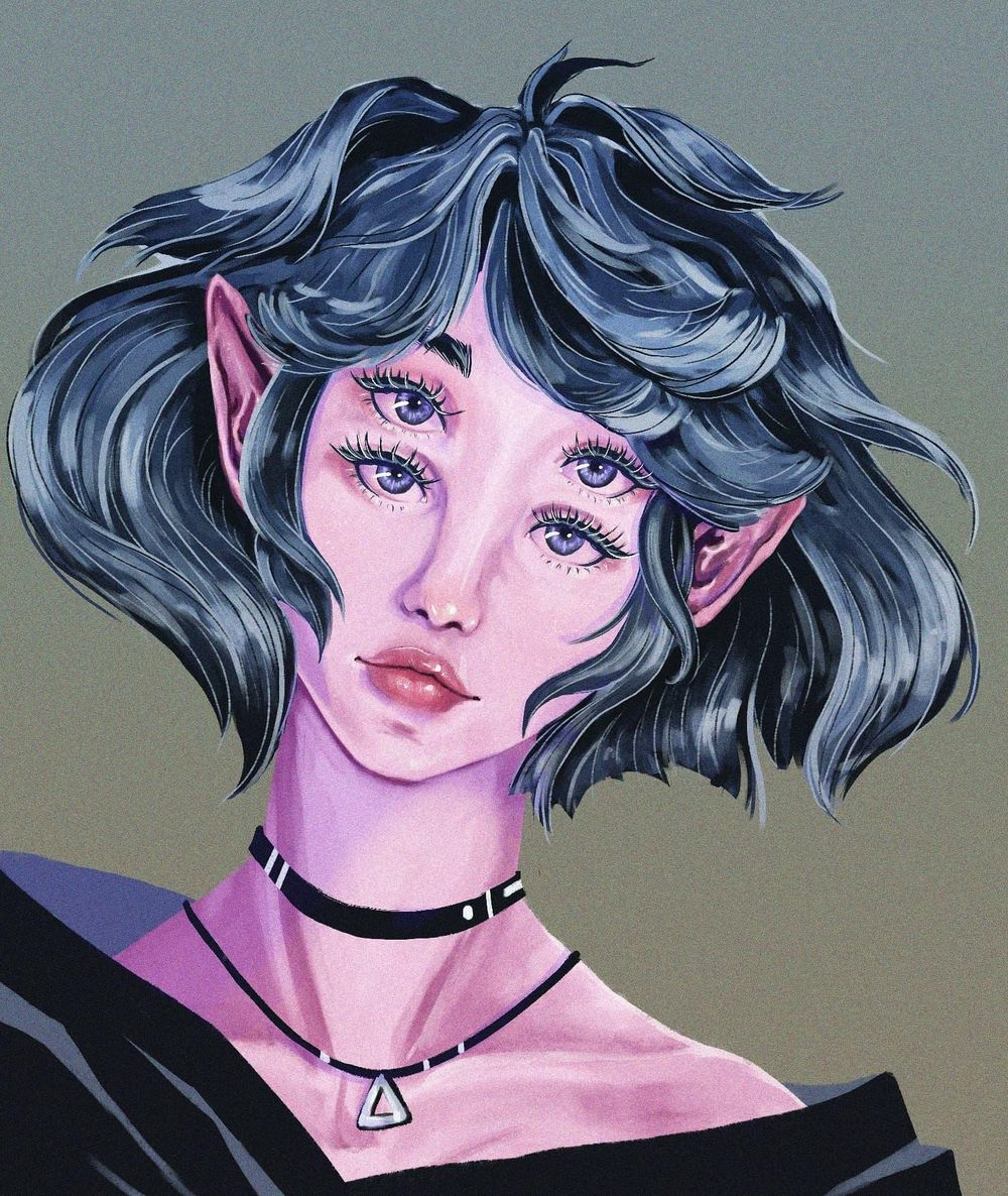 Elf fairy girl? - image 1 - student project