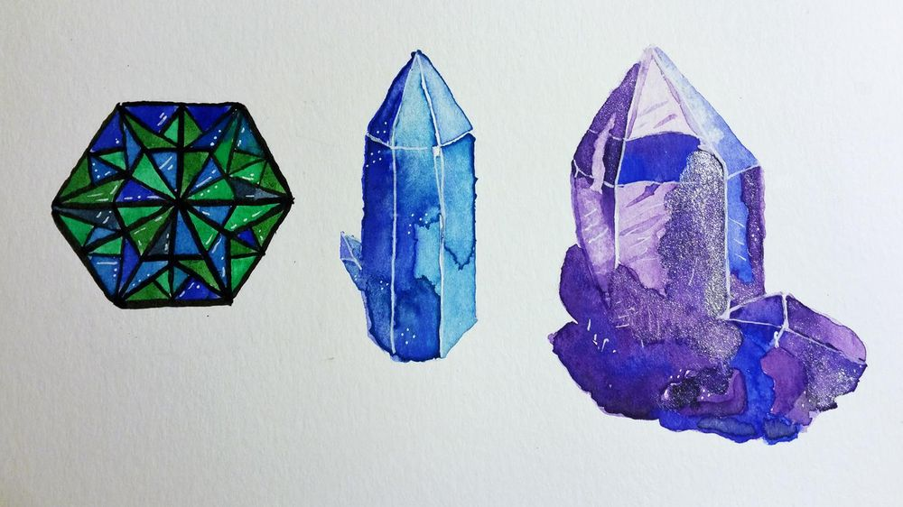 Crystal Experiments - image 1 - student project